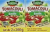 Panzani Sauce Tomacouli Basilic 2 x 200 g
