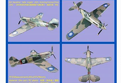 Unbekannt Bronco Models 48BK004 - Modellbausatz Flying Tiger P-40C Tomahawk Preisvergleich