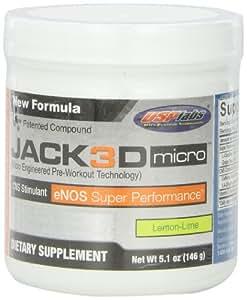 JACK 3D MICRO Usp Labs 146g - citron