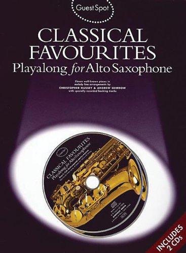 Guest Spot: Classical Favourites Playalong For Alto Saxophone Asax Boo por Various
