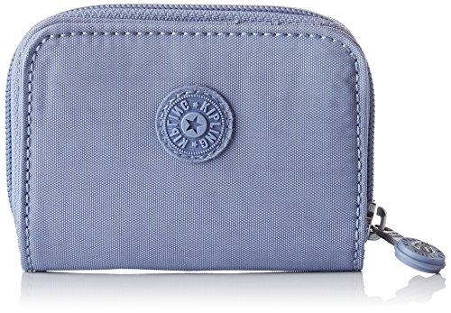 (Kipling Damen Tops Geldbörse, Blau (Timid Blue C), 7.5x10x2.5 cm)