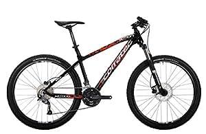 Corratec X Vert 650B Motion Fahrrad, Schwarz Glanz/Weiß/Neon Orange, 44