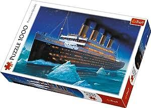 Trefl - 10080 - Puzzle - Titanic - 1000 Pièces