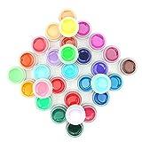 Coscelia 30 Farben UV Gel Farbgele UV Nagelgel Nagellack Kits Polish Gele Set