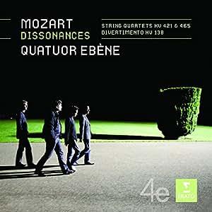 Streichquartette KV 421,465