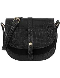 CRAZYCHIC - Women s Small Crossbody Bag - Crocodile Pattern PU Leather - Quilted  Shoulder Handbag - Messenger Crossbody Bags - Fashion… e20ac370827e7