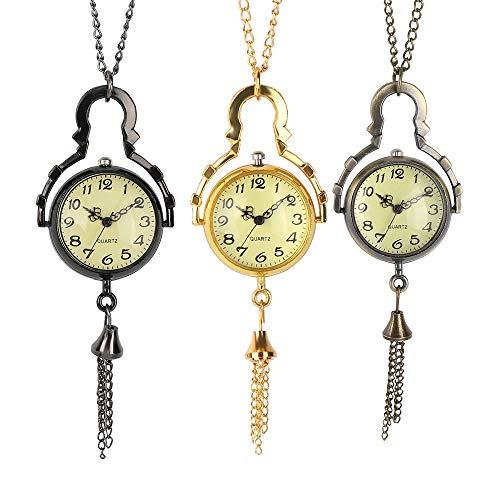 Juego de Tronos Reloj de Bolsillo Vintage Redondo Bolsillo Bolsillo Re