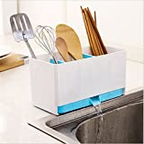 #2: BJE Sink Organizer Drainer Stand,Multi Utility (Mix Colors),Size ( 22*15*12 cm)