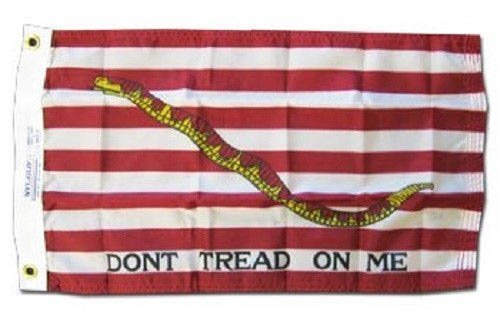 1St First Navy Jack Tea Party Flag Superpoly 12X18 Boat Flag by 1St First Navy Jack Tea Party Flag Superpoly 12X18 Boat Flag ... - First Navy Jack