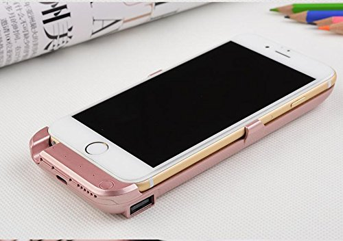 GDS Apple iPhone 6/6S. treasure. de charge intégré power. Mobile Téléphone portable boîtier rose gold