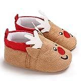 Gjyia Baby Krippe Schuhe Winter Weihnachten Kleinkind Infant Schnee Stiefel Weiche Sohle Turnschuhe Kaffee