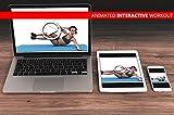 Powrx Gymnastikmatte Trainingsmatte Pilatesmatte Phthalatfrei - 5