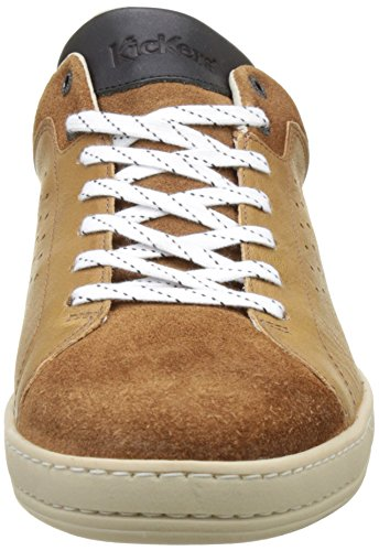 Kickers Sniff, Baskets Basses Homme Marron (Camel)