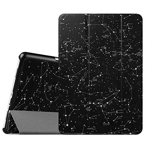 "Fintie Samsung Galaxy Tab A 9.7 Étui Housse - Slim Fit PU Cuir Coque Case Cover ave Fonction Sommeil/Réveil Automatique pour Samsung Galaxy Tab A Tablette 9,7"" SM-T550 / T555, Constellation"