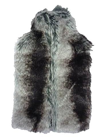 Deluxe Designer Thick Faux Fur 2 Litre Hot Water Bottle