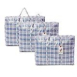 Reißverschlusstasche für Wäsche/Aufbewahrung/Einkauf, Extra groß, 4 Stück