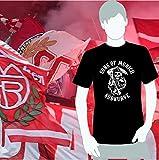 World of Football Bayern T-Shirt sons of munich Südkurve schwarz - XXL