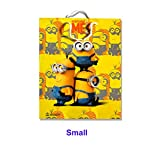 ThemeHouseParty Minion Theme Party Paper BAGES for Gifting (Small Size)/Birthday Party Decoration/Goodie Bag