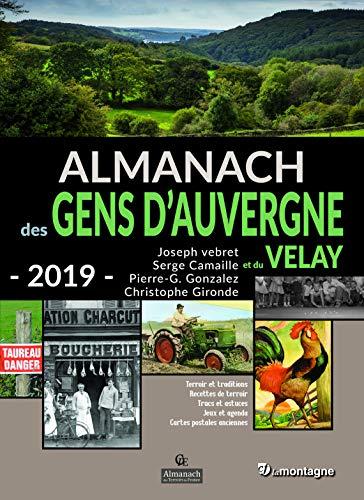 Almanach 2019 Gens d'Auvergne Velay