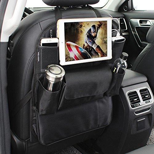 Keep Top Luxus Oxford Auto zum Aufhängen Rücksitz Organizer mit Tablet Halter, Mehrzwecktaschen Reisen Aufbewahrungstasche Vordersitz Organisation