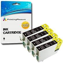 4 NEGRO Compatibles 29XL Cartuchos de tinta para Epson Expression Home XP-235, XP-332, XP-335, XP-432, XP-435 / T2991
