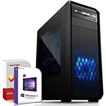 Gaming PC / Multimedia COMPUTER inkl. Windows 10 Pro 64-Bit! - AMD Quad-Core A10-7870K 4x 4.1 GHz - AMD Radeon HD R7000 8xCore APU - 16GB DDR3 RAM - 120GB SSD + 1000GB HDD - 24-fach DVD Brenner - USB 3.0 - DVI - HDMI - VGA - Gamer PC mit 3 Jahren Garantie!