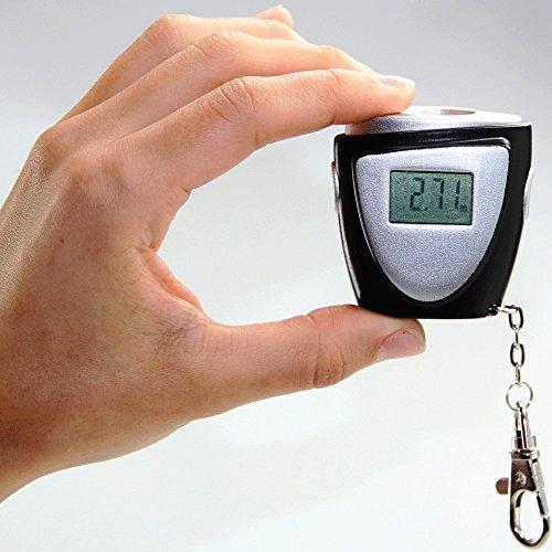 Mini telemetro 0,6a 12mcon moschettone