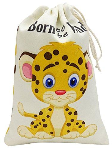 24f7e008f Darling Souvenir Bolsas para llevar Born To Be Wild Gracias Fiesta de  cumpleanos con estampado de
