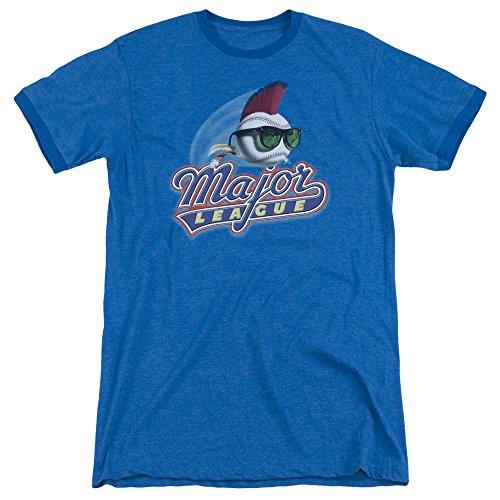 (Major League Herren T-Shirt Opaque blau blau Gr. XXL, blau)