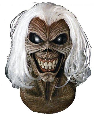 Iron Maiden Killers Maske für Heavy Metal Fans (Maiden Iron Halloween)