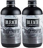 (2 PACK) Bleach London Silver Shampoo x 250ml
