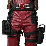 Halloween Ceinture Tactique Belt &Tactical Jambe Sac Poches Leg Bag Holster Props Tueur Cosplay Costume Accessoires