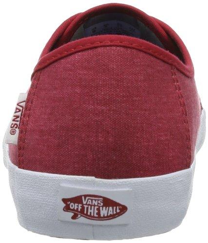 Vans M COSTA MESA VVNK14A Herren Sneaker Rot (Chili Pepper)