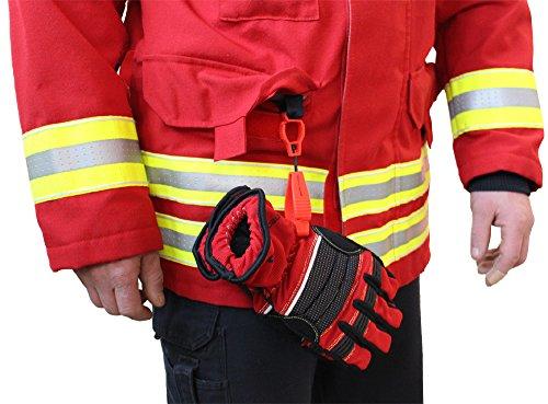 51Af2pJyTjL - tee-uu CLIP Handschuhhalter (rot, schwarz, gelb, leuchtend gelb)
