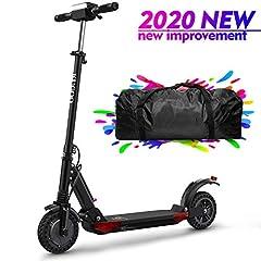 Idea Regalo - urbetter S1 PRO Monopattino Elettrico Scooter Pieghevole per Adulto velocità Massima 30kmh 350W Pneumatico a Prova di Esplosione da 8 Pollici (a Nero)