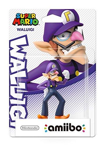 Nintendo - Figura amiibo Waluigi (Colección Mario)