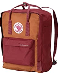 Fjällräven Save the Arctic Fox Kånken Rucksack, Ox Red, 13 x 27 x 38 cm