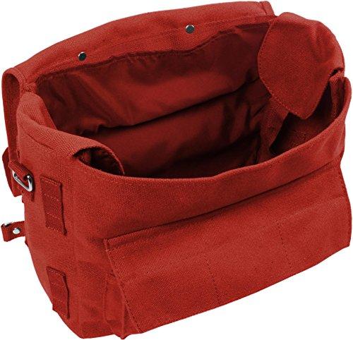 Kampftasche Umhängetasche groß Rot