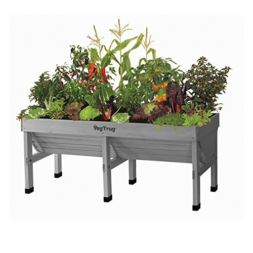 VegTrug Hochbeet Medium L180cm Grey wash