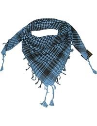 Lovarzi - Bufanda azul del desierto - bufandas shemagh elegante y versátil para invierno y verano