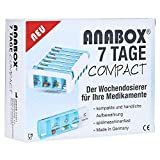 ANABOX Compact 7 Tage Wochendosierer blau/weiß 1 St