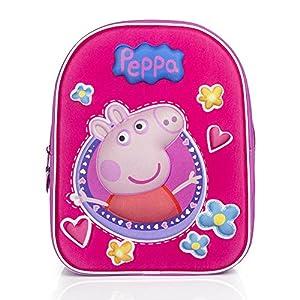 3D de la novedad Mochila Peppa Pig Girl