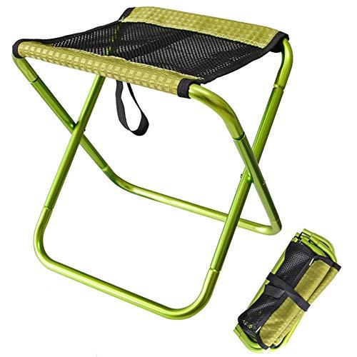 KIKTS Mini Campingstuhl Klappbar Outwell Leicht Gartenmöbel, Kleines Packmaß12x30.5Cm,Für Camping,Angeln,Reise Oder Strand,Green (Mini-falte-stuhl)