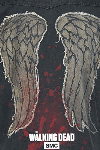 The Walking Dead Daryl Dixon - Wings Veste sans manches anthracite Anthracite