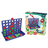 Connect 4 Game, Four In A Row Game Toys Line Up 4 Board Game Fun For All Kids Boys And Girls Ideal For Travel And Family Fun At Home Classic Original Four In A Row Gaming Family Games Chess Set