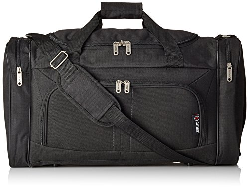 5 Cities 602 Sport Duffel, 54 cm, 32.0 Liters, Black