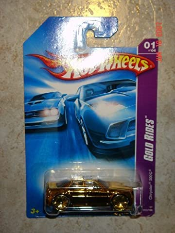 2007 Hot Wheels Gold Rides Chrysler 300C 1:64 Scale by