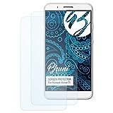 Bruni Schutzfolie für Huawei Honor 7i / ShotX Folie, glasklare Bildschirmschutzfolie (2X)