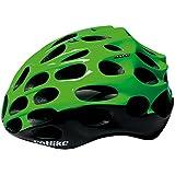 2016Catlike Mixino 850154–22-M Negro/Fluo Verde Medio casco de la bici