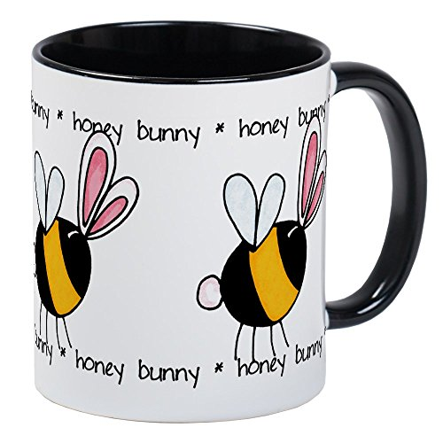 Bunny-Einzigartige Kaffee Tasse, Kaffeetasse, Tee, Tasse, White/Black Inside, S ()